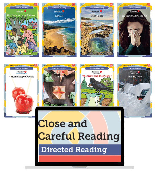 Close and Careful Directed Reading
