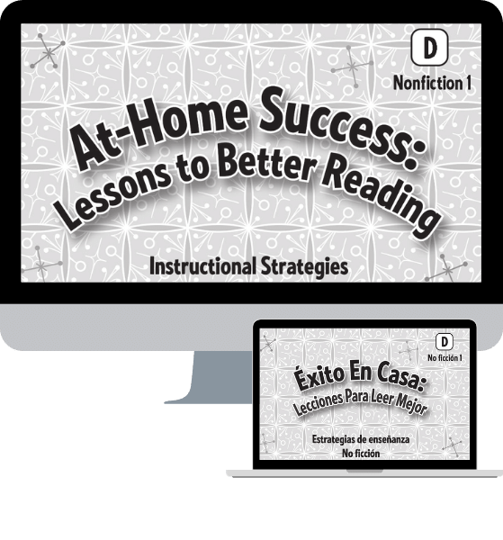 At Home Success: Lessons to Better Reading