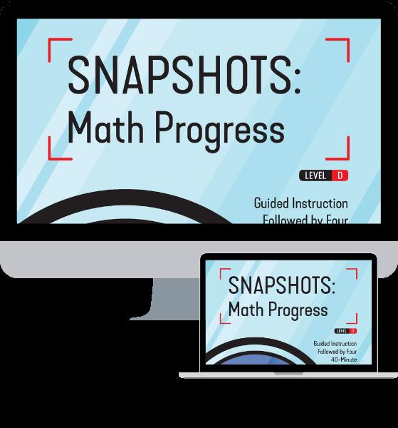 Snapsots: Math Progress