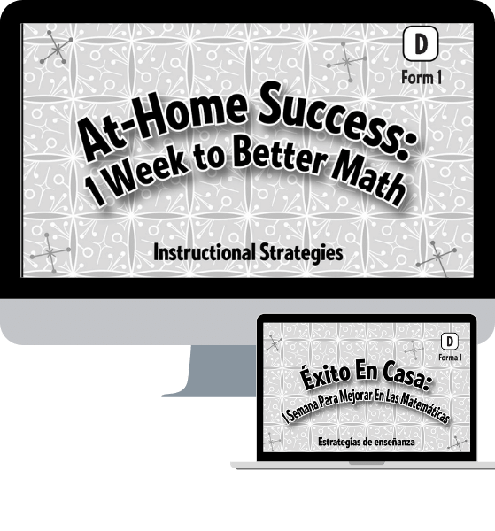 At Home Success: 1 Week to Better Math