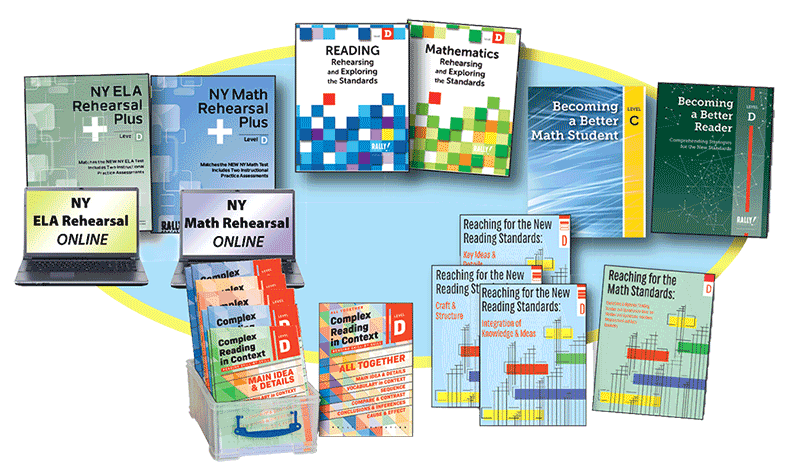 Assessments and Instruction Written Specifically the NY ELA and NY Math Tests!